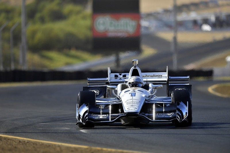 Sonoma IndyCar: Simon Pagenaud leads practice for Penske