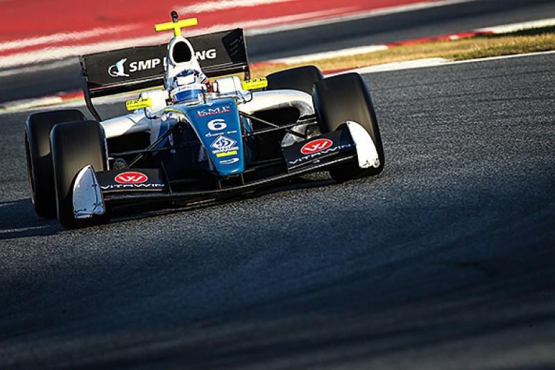 """Revelation"" Egor Orudzhev remains with Arden for Formula 3.5 V8"