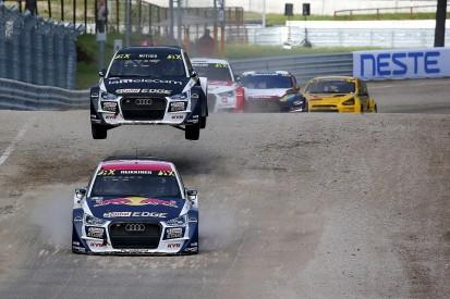 World RX Latvia: EKS Audi driver Heikkinen leads opening day