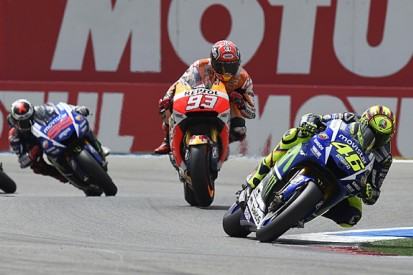 Marc Marquez's MotoGP form forced Yamaha to react for 2015