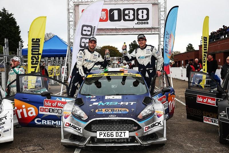 M-Sport driver Cronin claims his fourth British Rally Championship