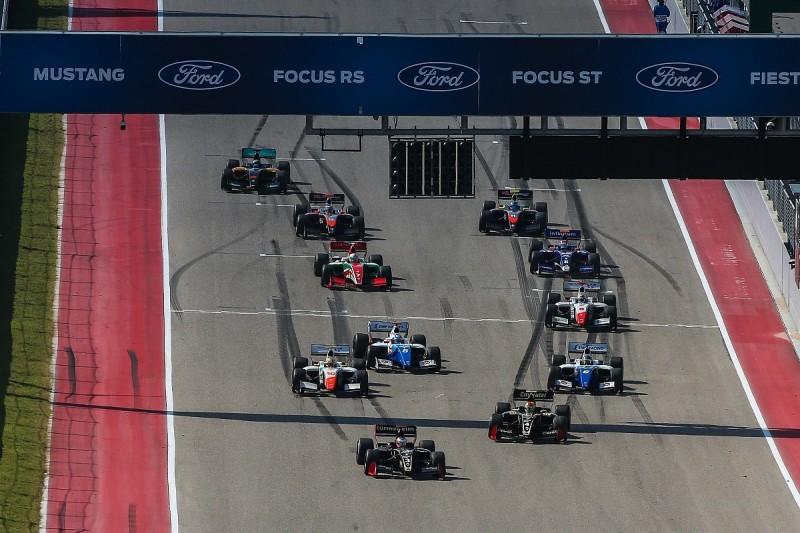 Austin Formula V8 3.5: Rene Binder dominates opener for Lotus