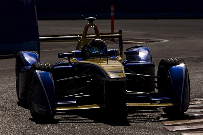 Punta del Este Formula E: Sebastien Buemi sets pace then crashes
