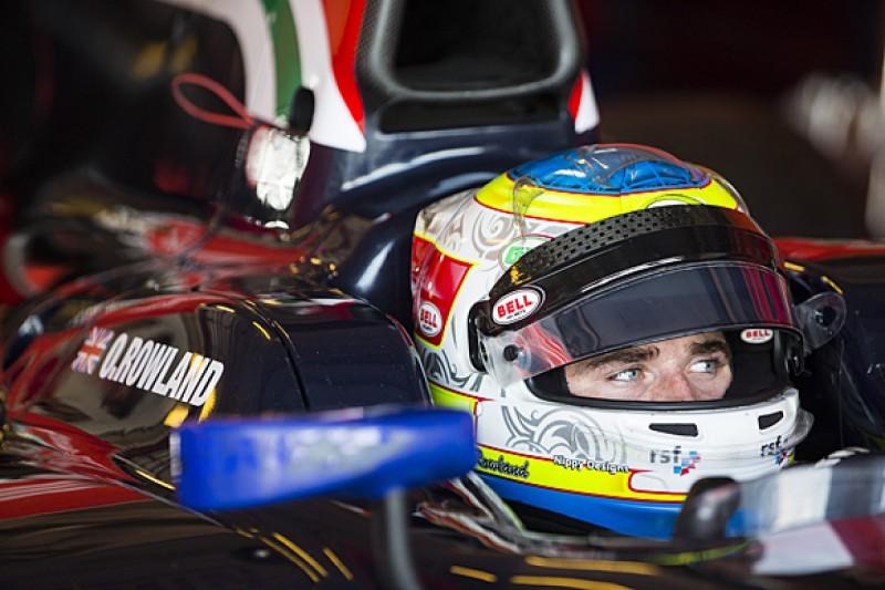 Formula 1 team link key to Oliver Rowland's 2016 GP2 plans