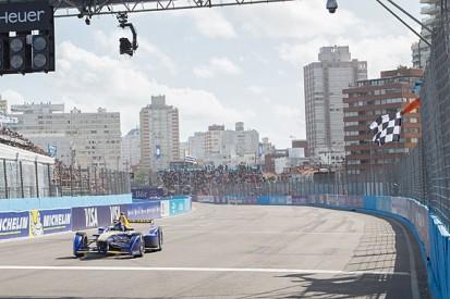 Punta del Este Formula E: Sebastien Buemi battles from fifth to win