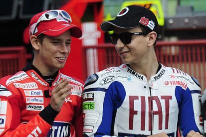 Jorge Lorenzo 'sure' Casey Stoner will race for Ducati in MotoGP