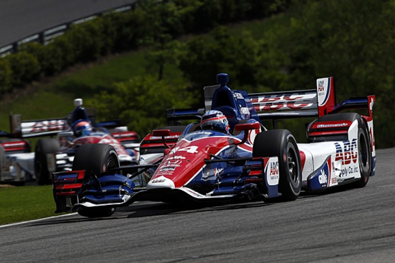 AJ Foyt Racing retains Sato and Hawksworth for 2016 IndyCar Series