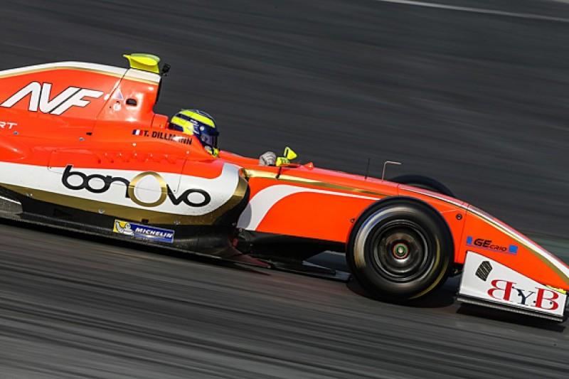 Tom Dillmann tops final day of Formula 3.5 V8 testing