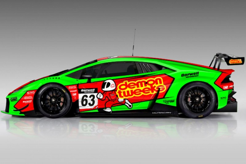 Keen and Minshaw to drive Barwell Lamborghini in British GT in 2016