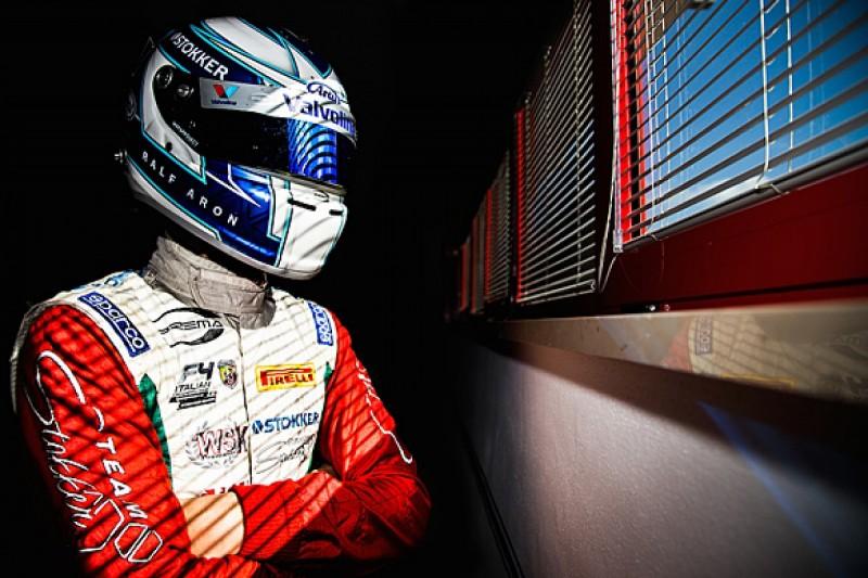 Italian F4 champion Ralf Aron gets 2016 Prema European F3 seat