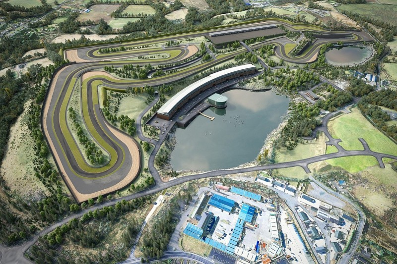 New £29m Lake Torrent track to be built in Northern Ireland