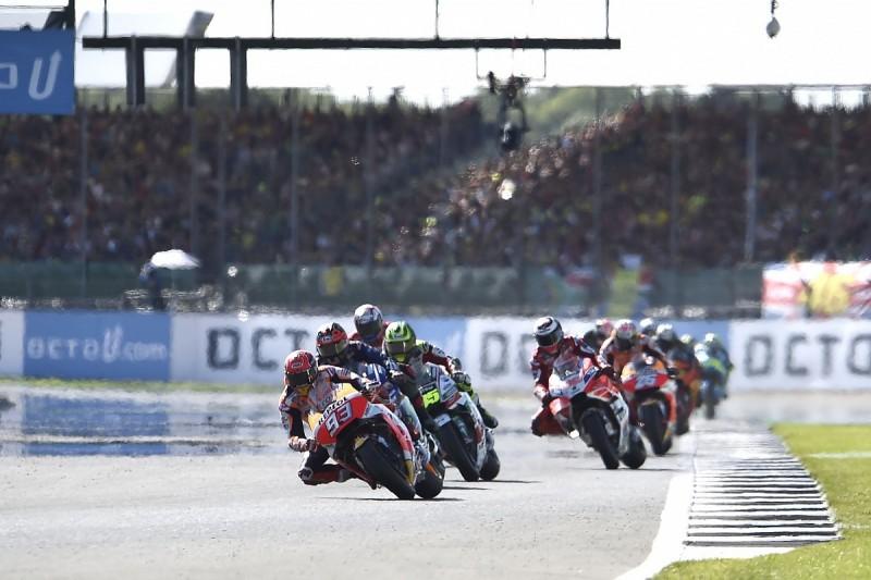 British GP host Silverstone absent from draft 2018 MotoGP calendar