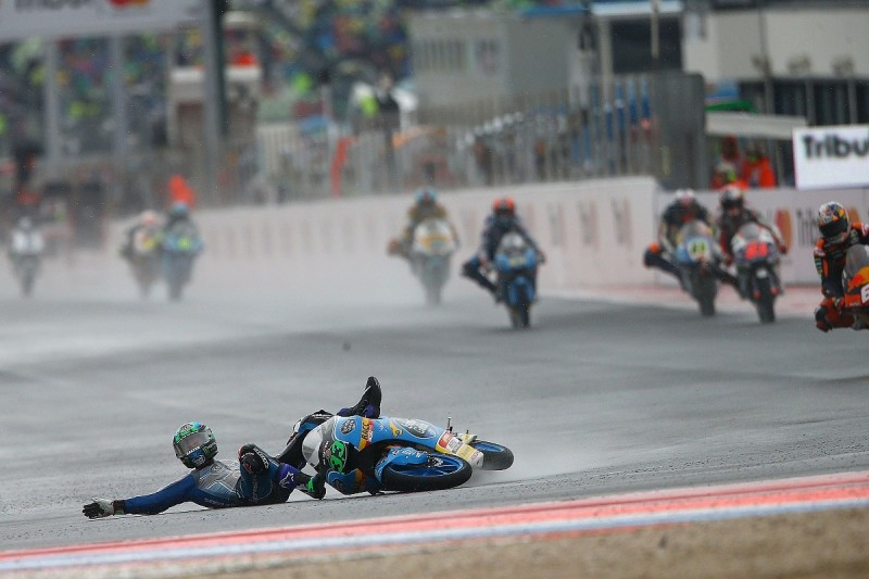 Misano MotoGP weekend set new record with 140 crashes