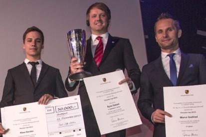 British driver Ryan Dalziel wins Porsche Cup privateers' award