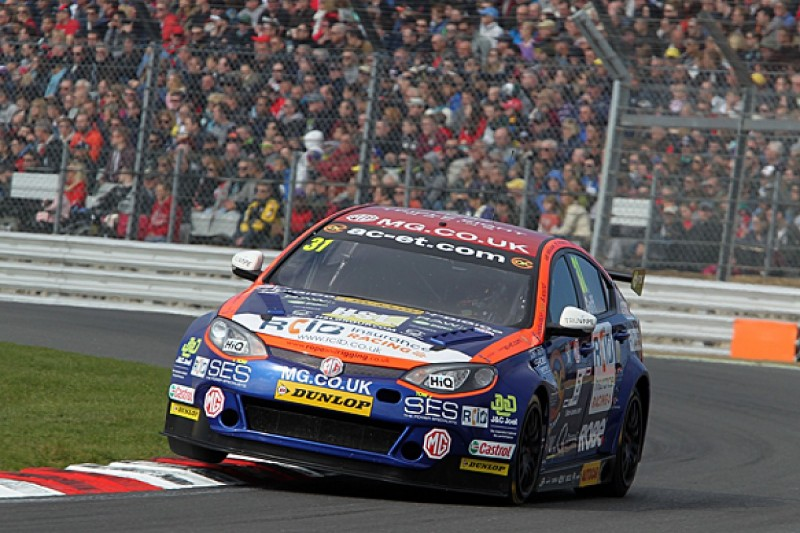 MG extends BTCC factory deal with Triple Eight for three more years
