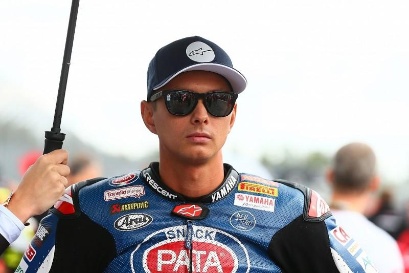 Superbike rider van der Mark replaces Rossi for Aragon MotoGP round