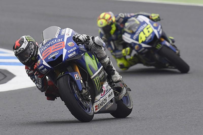 Valentino Rossi 'created' row with Marc Marquez - Jorge Lorenzo