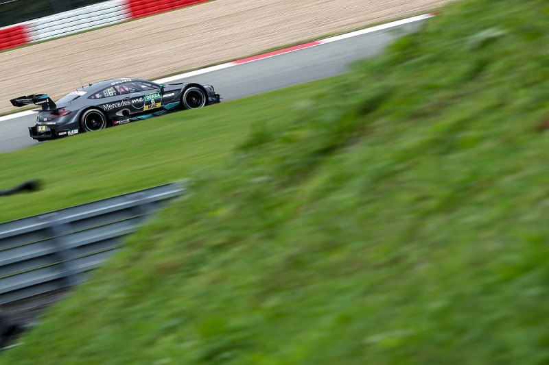 DTM Nurburgring: Wickens wins gripping second race from di Resta
