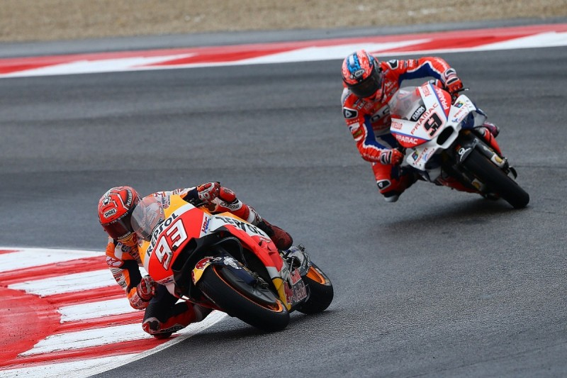 Misano MotoGP: Marquez nearly stayed second, risked move to win