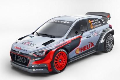 Hyundai unveils new i20 for 2016 World Rally Championship