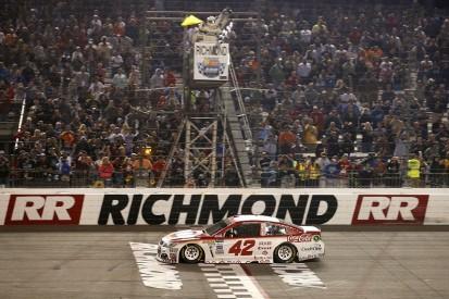 NASCAR Richmond: Larson takes dramatic overtime victory