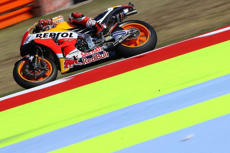 Misano MotoGP: Marc Marquez rebounds from Friday crash to top FP3