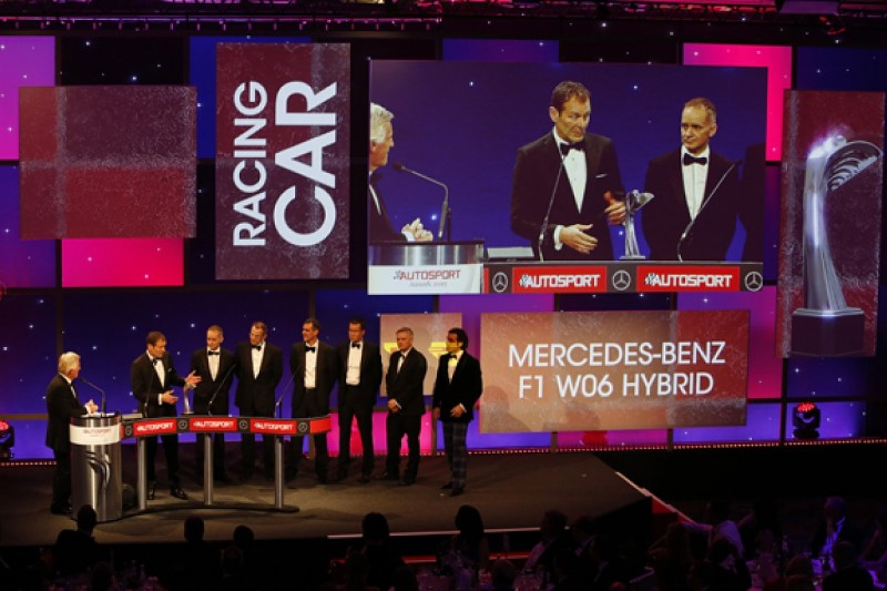 Autosport Awards 2015: Mercedes F1 W06 named Racing Car of the Year