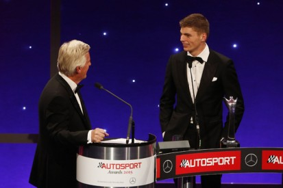 Autosport Awards 2015: Max Verstappen named Rookie of the Year