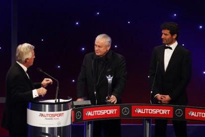 Autosport Awards 2015: Alan Jones receives Gregor Grant Award
