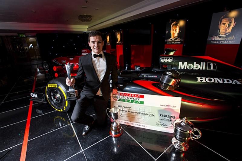 Autosport Awards 2015: Palmer wins McLaren Autosport BRDC Award