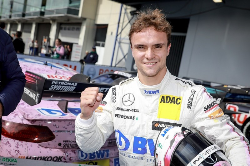 DTM Nurburgring: Lucas Auer wins after Paul di Resta gives up lead