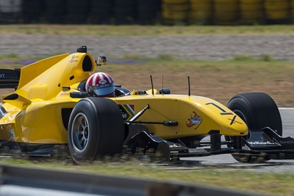 Ex-A1GP 'Powered by Ferrari' car returns to testing in South Africa
