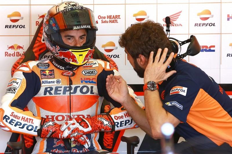 Marquez frustrated over Ianonne incident in Misano MotoGP practice