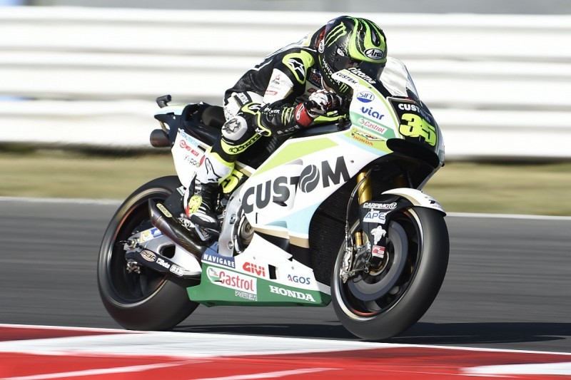 Cal Crutchlow: Injured finger 'uncomfortable' but OK for Misano