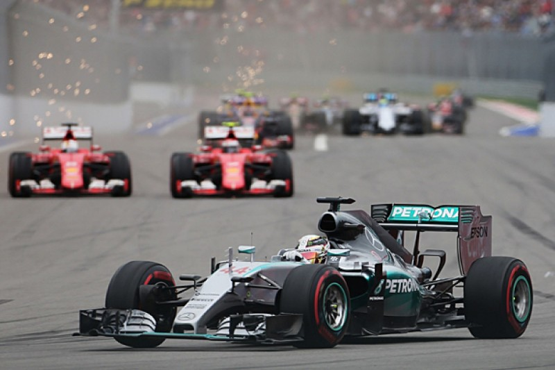 Petronas ready for battle with Shell in 2016 F1 season