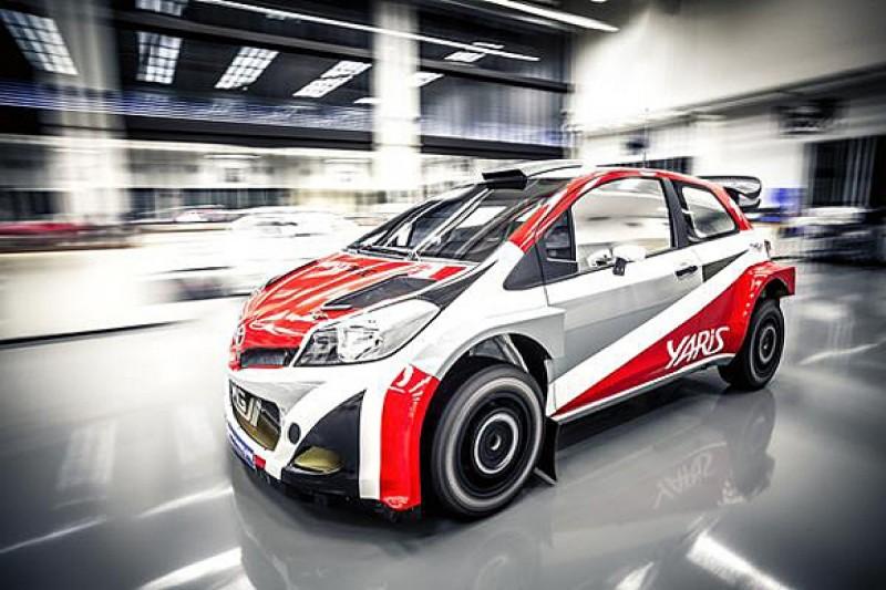 Toyota Yaris WRC testing to start in spring 2016