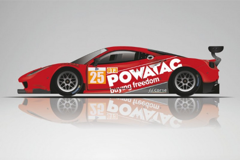 FF Corse Ferrari team steps up to ACO's new GT3 Le Mans Cup
