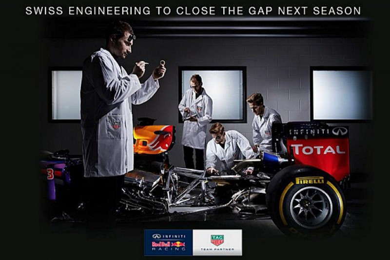 Red Bull hints at Tag Heuer engine branding in Formula 1