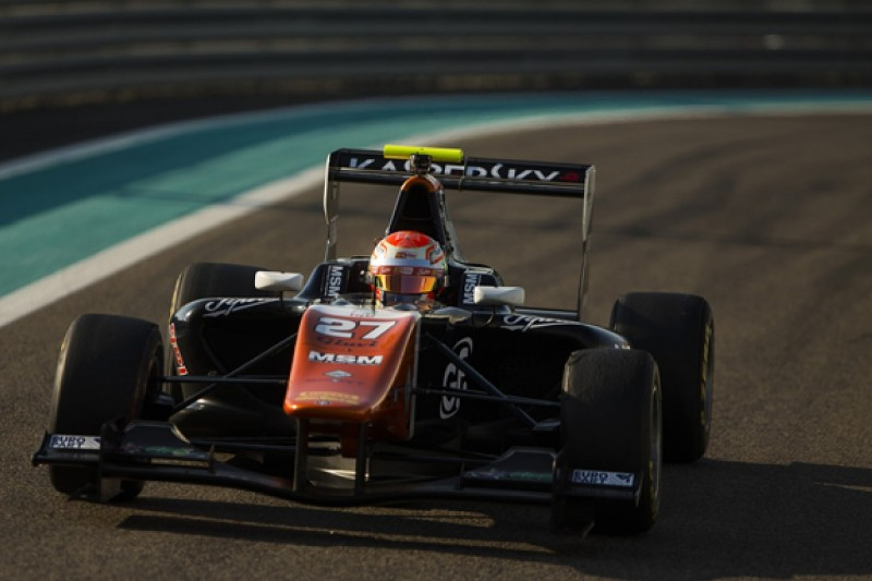 Ferrari protege Fuoco leads second day of GP3 Abu Dhabi test
