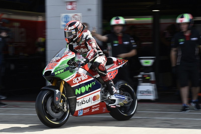 Redding says MotoGP rookie Lowes in difficult situation at Aprilia