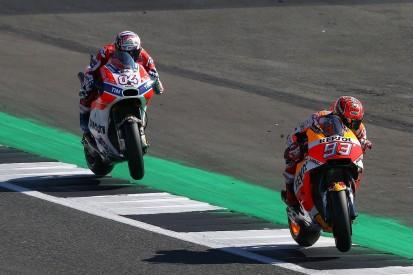 Marquez 'plays with the limit' of Honda MotoGP bike - Dovizioso