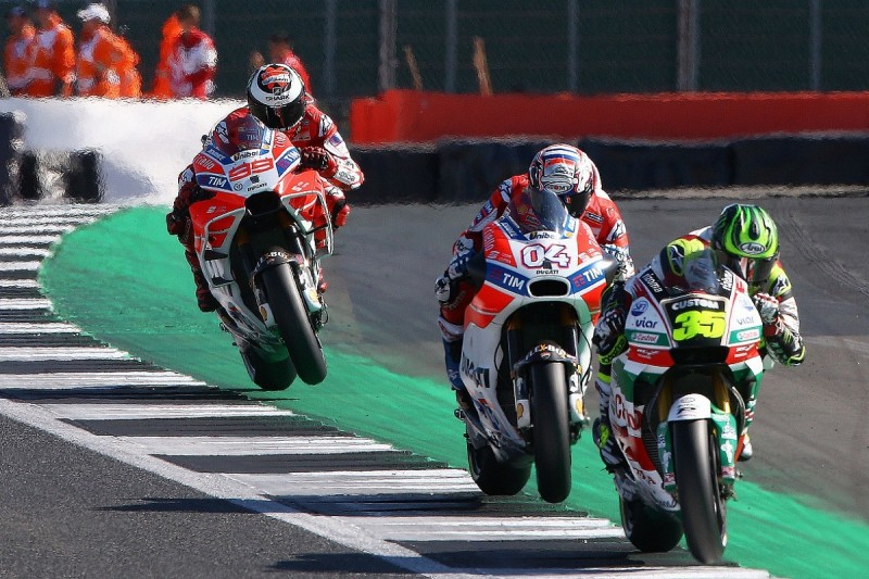 Crutchlow has sympathy for F1/MotoGP tracks over surface complaints