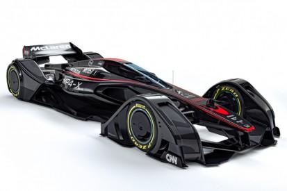 McLaren Formula 1 team unveils MP4-X concept car