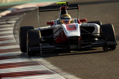 F3 racer Charles Leclerc tops first day of GP3 Abu Dhabi test