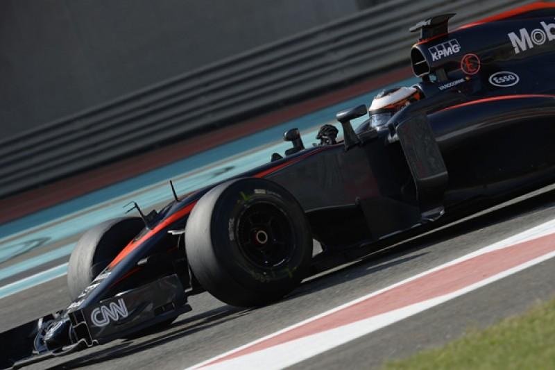 F1 Abu Dhabi tyre test: Stoffel Vandoorne fastest for McLaren