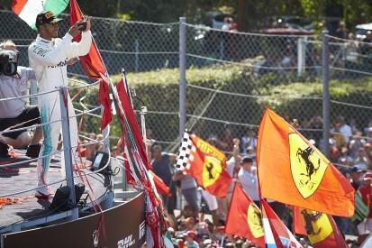 Lewis Hamilton happy to play Monza 'villain' after Italian GP win