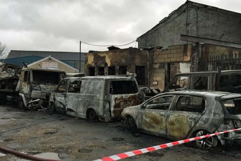Motorbase BTCC and GT squad safe despite industrial complex fire