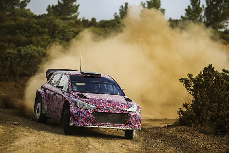 Hyundai finalises launch specification for new i20 World Rally Car