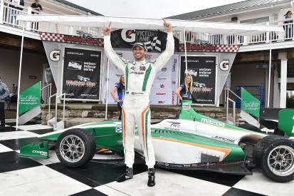 Kyle Kaiser wins Indy Lights IndyCar feeder series at Watkins Glen
