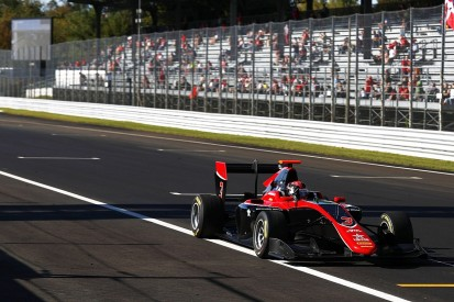 Mercedes F1's George Russell wins thrilling Monza GP3 race